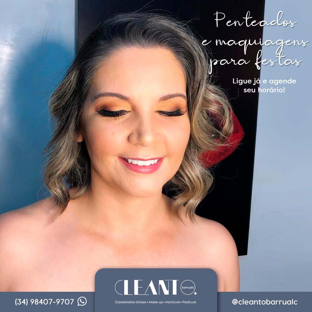 O Studio Cleanto Barrualc tem maquiagens profissionais e especiais para você ficar ainda mais linda!