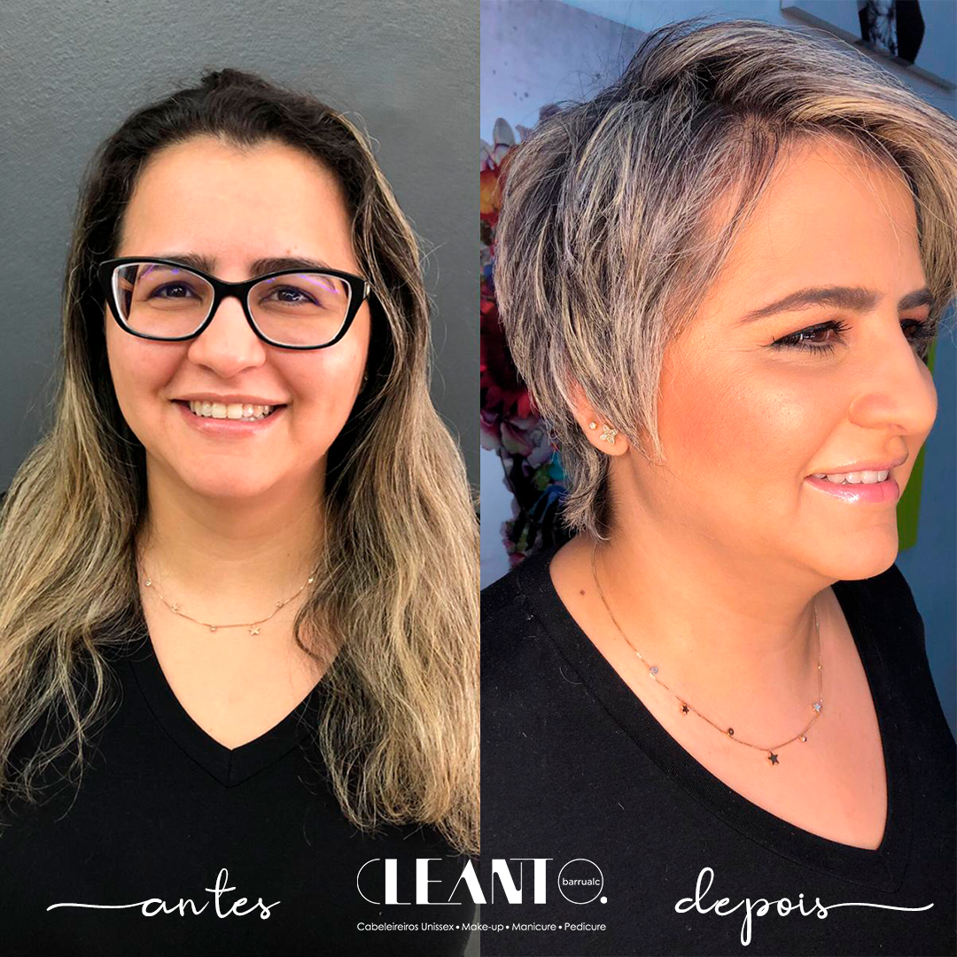 Antes e depois - Mudar sempre faz muito bem!