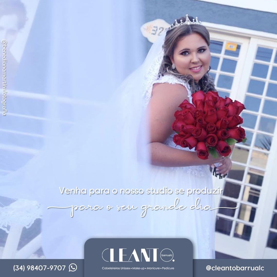 Noivas, o seu grande dia merece todo cuidado e profissionalismo. O dia é seu, e você deve brilhar em todos os momentos!