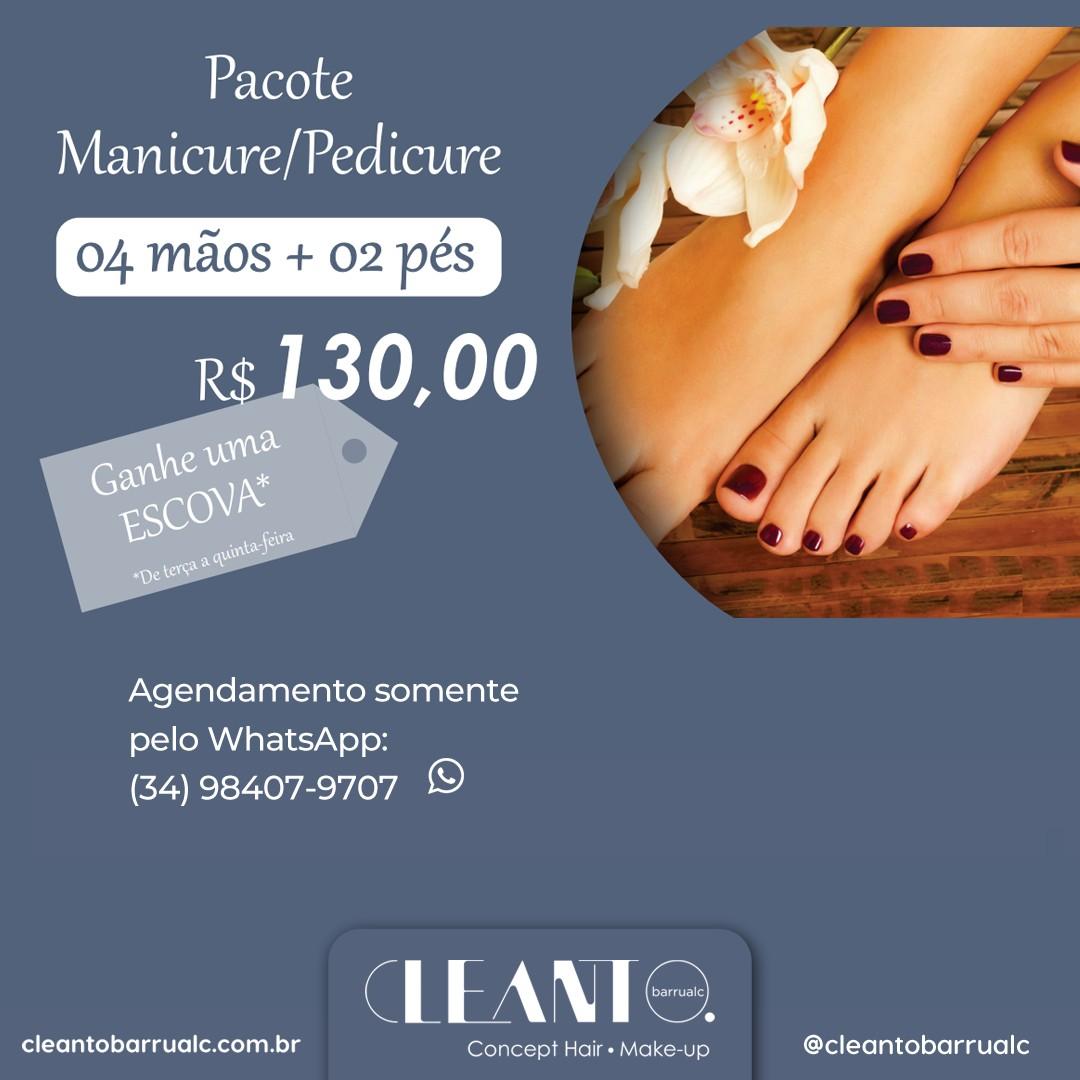 Pacote Manicure e Pedicure
