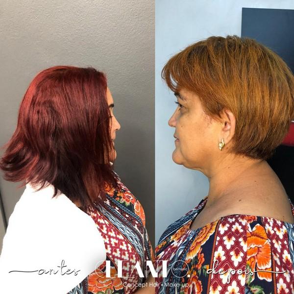 Uma mudança no visual, eleva a autoestima, e torna tudo muito mais lindo! Antes e depois de uma transformação surpreendente.