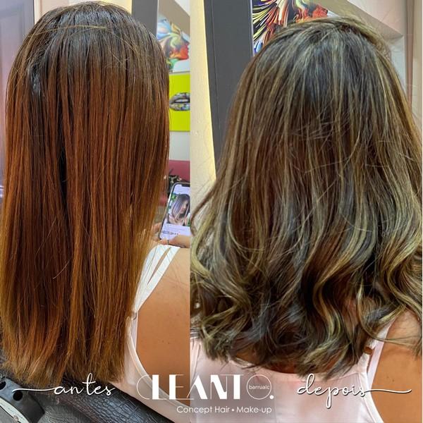 Seu cabelo com aparência saudável e natural