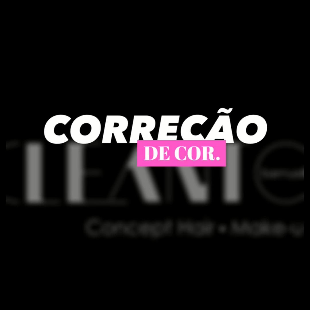 Faça a correção da cor do seu cabelo com Studio Cleanto Barrualc
