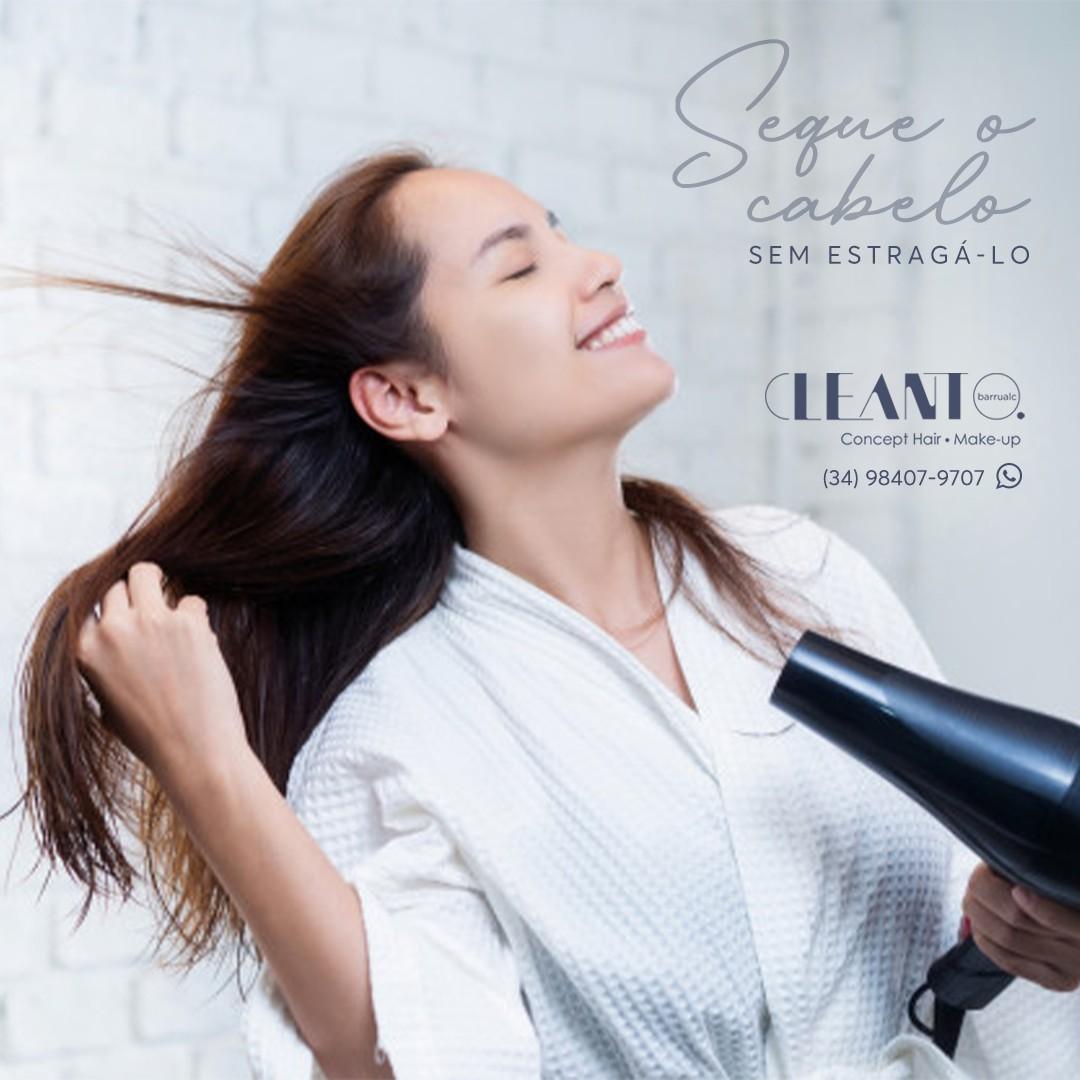 Secar o cabelo sem estragá-lo