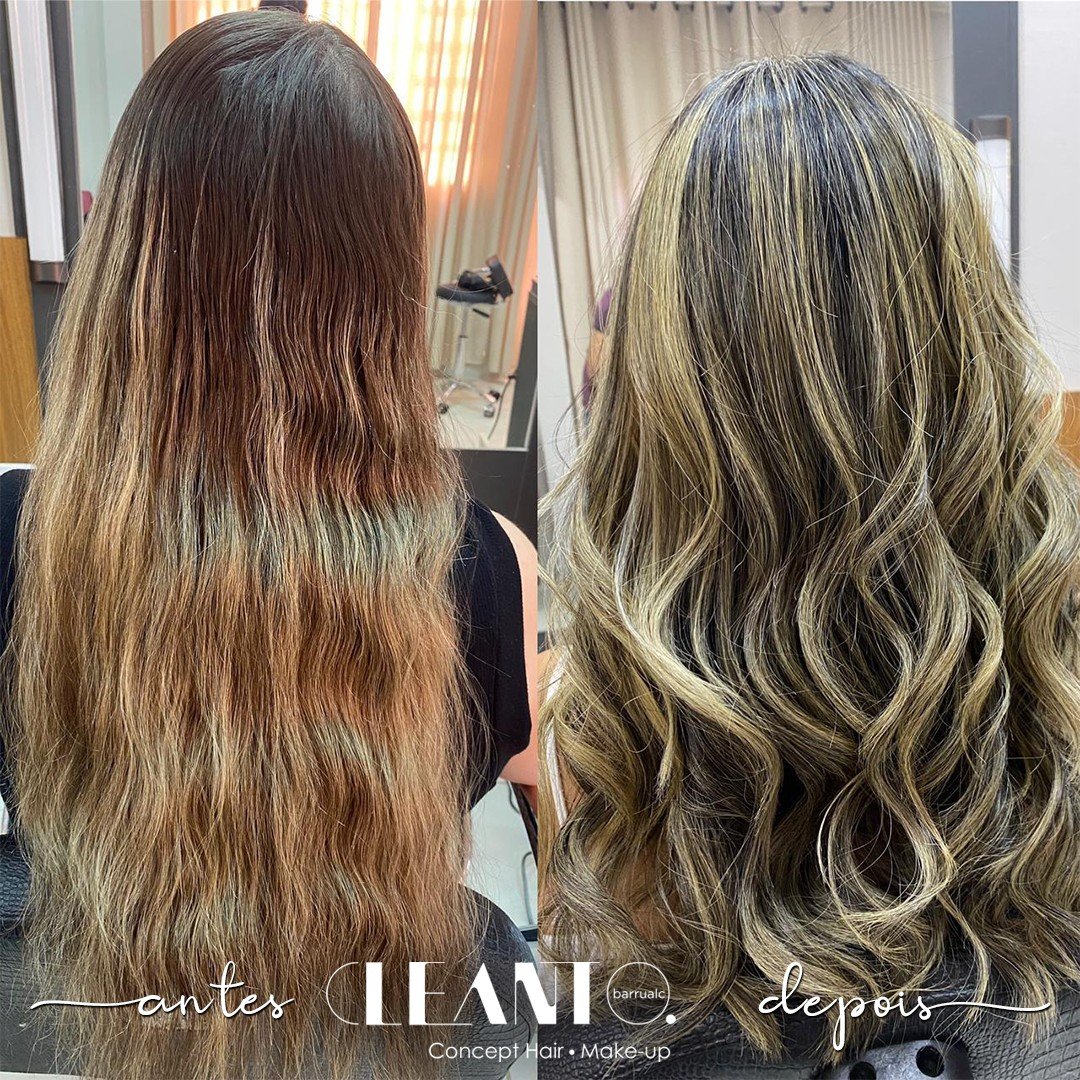 Antes e depois - seu visual reflete sua autenticidade!